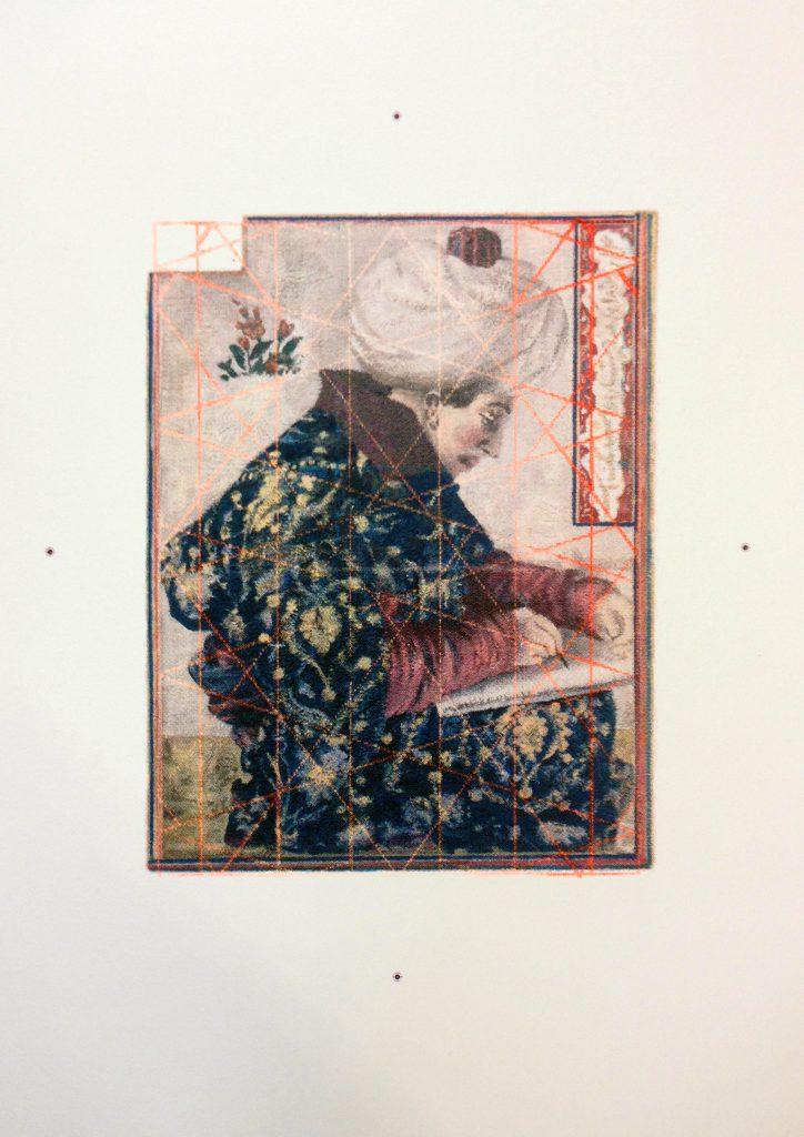 """Jochen Plogsties, """"3_14"""", 51x36 cm, Siebdruck, 2016"""