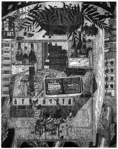 Gabriela Jolowicz, disorganiser, 2015, 100x78,9cm