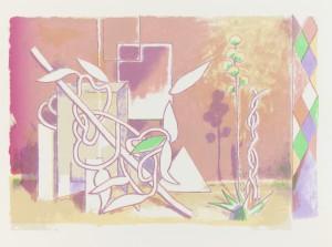 Schachtel II, 2011, 30x21cm, Tuschelithografie