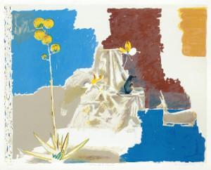 Wounded Healer, 2011, 77 x 94,5 cm, Zinkografie