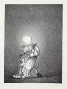 Die geheimnisvolle Affäre, 2007, 38x28, 44,5x33,5, Lithografie, 16