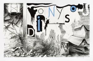 Dionysos, 2009, Lithografie, 56x90cm