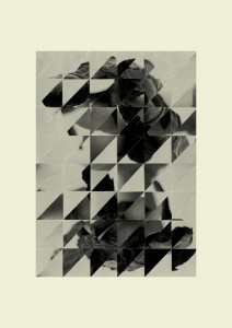 Franziska Holstein, o. T. (H 8-11), 2011, 61 x 43 cm, Handoffsetdruck, ED 10