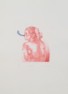 Sexiblatt, 2007, 21x17cm, 44,5x33,5cm, Lithografie, 10