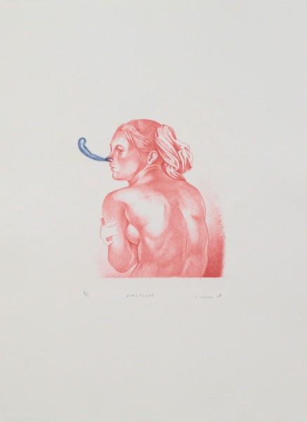 Steve Viezens, Sexiblatt, 2007, 21x17cm, 44,5x33,5cm, Lithografie, 10