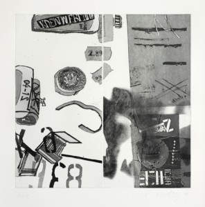 Vlado Ondrej, Veränderung der Werte I, 60x70cm, 2012, Aquatintaradierung, Auflage 6