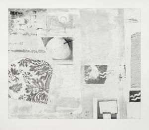 Vlado Ondrej, Veränderung der Werte II, 60x70cm, 2012, Aquatintaradierung, Auflage 6