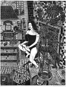 Gabriela Jolowicz, Commercial Road, 2011, Holzschnitt auf Papier, 42 x 32 cm, Blattmaß 59,2 x 42,0 cm