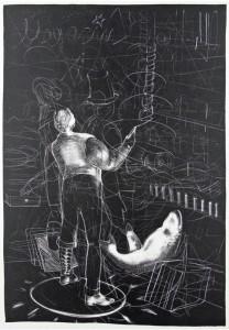 Anya Triestram, Mai, 2011, 47x35cm, Schablithografie
