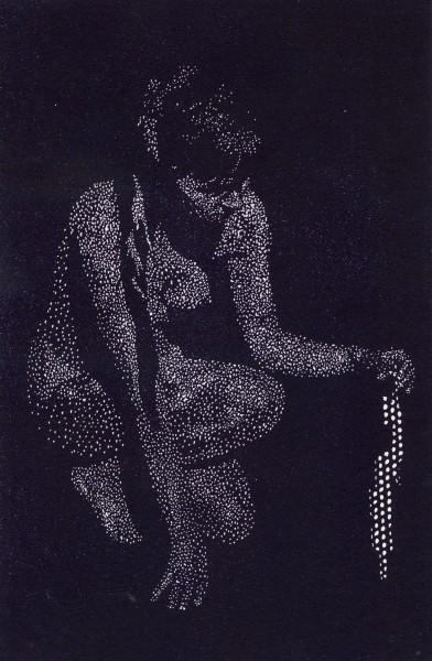 Sebastian Speckmann, Fund, 25,7 x 16,9 cm, Linolschnitt