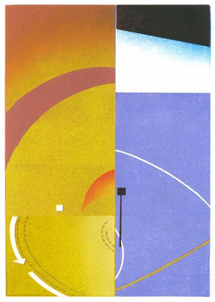 Benjamin Dittrich, Detail, 2013, 30x21cm Linocut