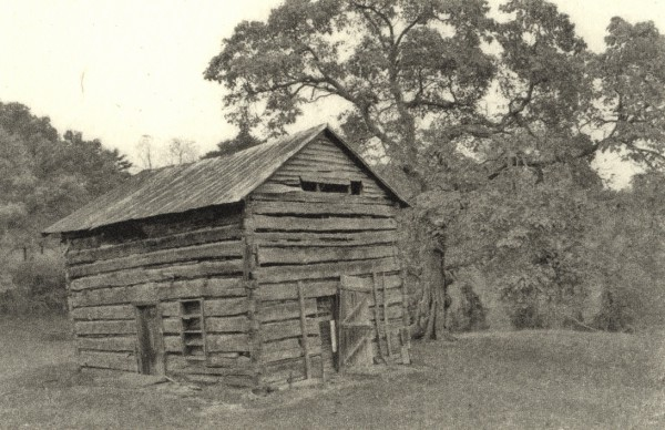 Sebastian Nebe, Backwoods Cabin I, Polymergravur
