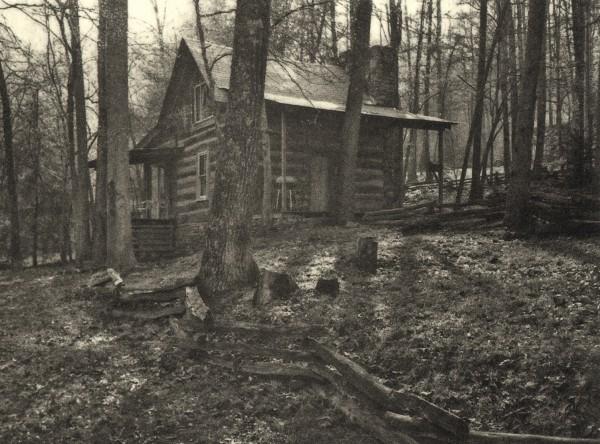 Sebastian Nebe, Backwoods Cabin II, Polymergravur