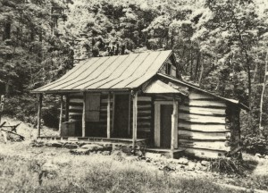 Sebastian Nebe, Backwoods Cabin III, Polymergravur