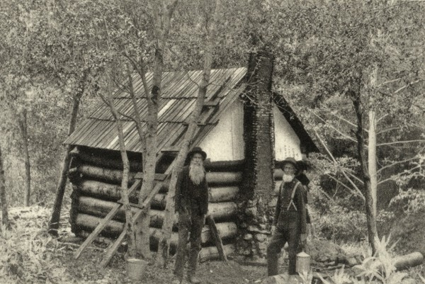 Sebastian Nebe, Backwoods Cabin IV, Polymergravur