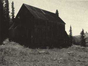 Sebastian Nebe, Backwoods Cabin V, Polymergravur