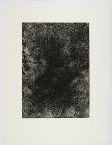 Sebastian Rug, o.T., 2003, 63x48cm, Strichätzung