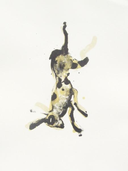 Anija Seedler, Falscher Hase, 2007, Siebdruck
