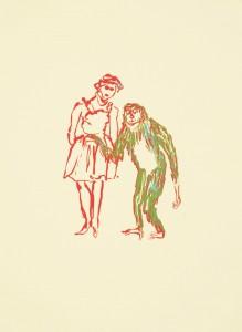 Anija Seedler, Animateur 3, 2012, Siebdruck