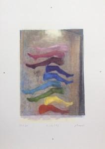 Jochen Plogsties, 4_13 (F), 2015, Siebdruck
