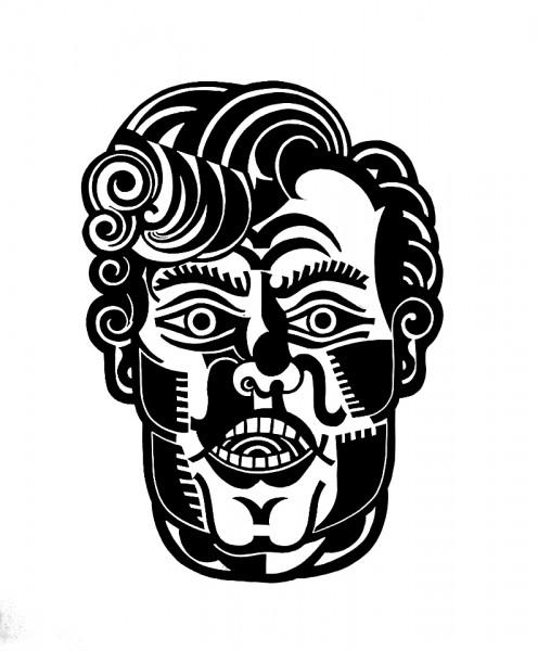 SG, untitled, 2015, 60x50cm, Linocut