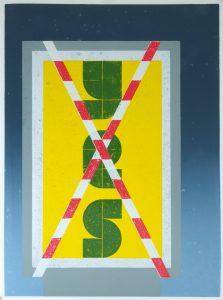 Benjamin Badock, Aufstellung - Dilemma, 2016, Hochdruck