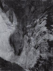 Eva Walker, Vermessung 15, 2015, Radierung