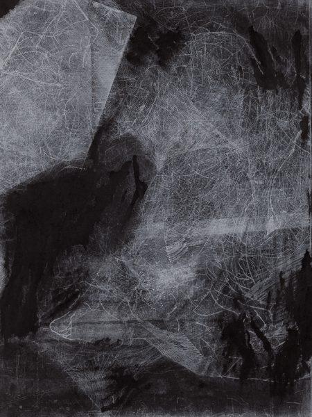 Eva Walker, Vermessung 18, 2015, Radierung