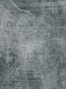 Eva Walker, Vermessung 25, 24x18cm, Radierung, 2015