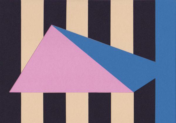 Laetitia Gorsy, Patron, 2018, 29,7x21cm, Papierschnitt