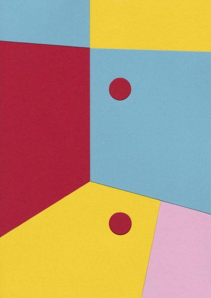 Lætitia Gorsy, Balls, 2018, 29,7x21cm, Papercut