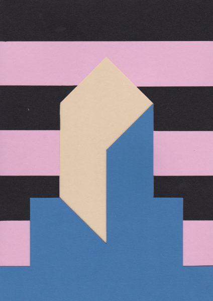 Lætitia Gorsy, Patron I, 2018, 29,7 x 21cm, Papercut