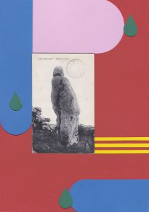 Lætitia Gorsy, Robinson DesIles, 2018, 29,7x21cm, Papercut/Collage