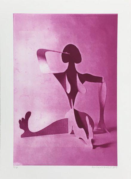 Christoph Ruckhäberle, untitled, 2018, 70x50cm, Photogravure