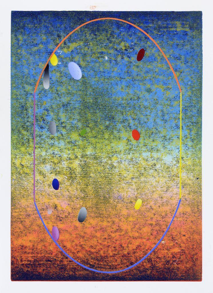 Benjamin Dittrich, KBDE-08, 2018, 42x29,7cm, Linolschnitt