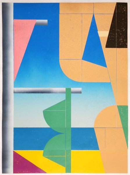Benjamin Badock, Aufstellung - Beach Hideaway, 2019