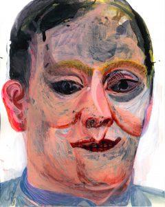 Sebastian Gögel, o.T. 2018, Zeichnung, 30 x 24 cm
