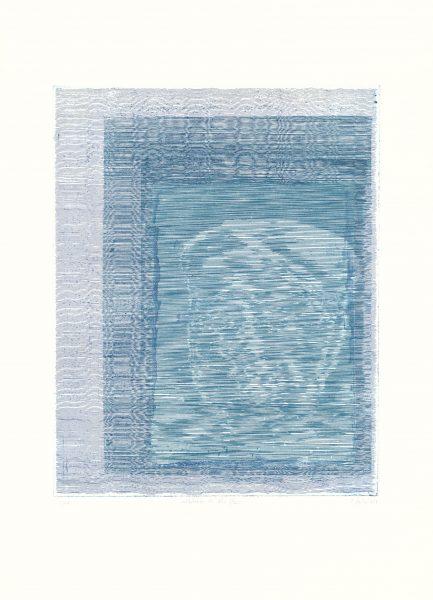 Claus Stabe, o.T., 2018, 56 x 39 cm, Radierung