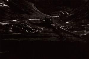 Dawn, 2018, 71 x 106 cm, Holzstich, 2.500