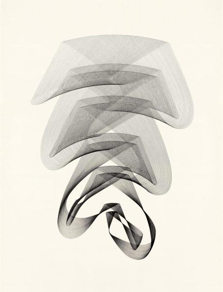 Maribel Mas, Heliconia 2, 2020, Zeichnung