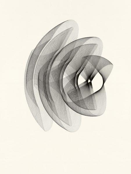 Maribel Mas, Heliconia 3, 2020, Zeichnung