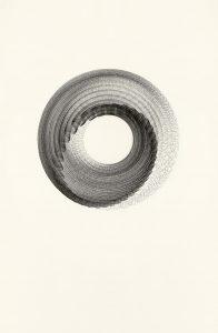 Maribel Mas, Zahnrad 6, 2020, Zeichnung