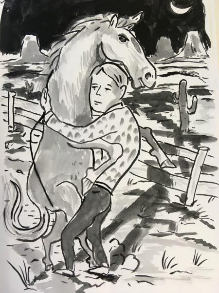 Markus Vater, untitled, 2019, 59,4x42 cm, Zeichnung