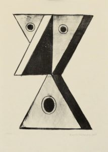 Christoph Ruckhäberle, o.T., 2007, Lithografie